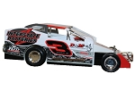 Billy Pauch Jr. 2019  #3 Hard Plastic Toy car