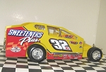 Vic Coffey 2016  #32c Hard Plastic Toy car