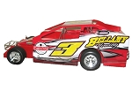 Chad Brachmann #3 Bellamy Towing Hard Plastic Toy car