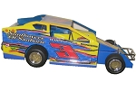 Chad Brachmann 2018 358 #3 Hard Plastic Toy car