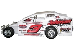 Marc Johnson 2017 #3 Hard Plastic Toy car