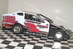 Justin Haers 2016  #3 Hard Plastic Toy car