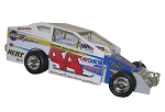 Frank Cozze Syracuse winner 2008 #44 Hard Plastic Toy car