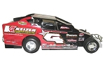Jeff Strunk 2013 #4 Hard Plastic Toy car
