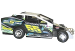 Matt Hulsizer 2017 #55 Hard Plastic Toy car