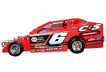 Danny Bouc 2020 #6 Hard Plastic Toy car