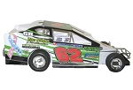 Erick Rudolph 2016 #62 Hard Plastic Toy car