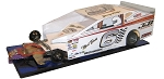 Slot Magic 3 Dirt Modified body - Jimmy Phelps 2015 Syracuse car #6