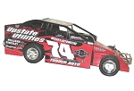 JR Heffner 2014 Syracsue car #74 Hard Plastic Toy car
