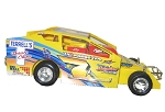 Steve Paine 2007 Syracuse car #7x Hard Plastic Toy car