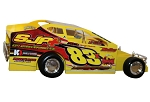 Tim Sears Jr. 358 2019  #83X Hard Plastic Toy car