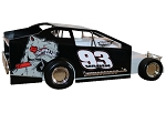 Danny Varin 2019  #93 Hard Plastic Toy car