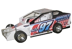 Pete Britten 2018  #97Hard Plastic Toy car