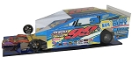 Slot Magic 3 Dirt Modified body - Larry Wight 2014 358 Syracuse car #99L