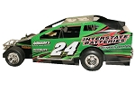 Joey Brunning 2017 358 #24 Hard Plastic Toy car