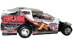 Chad Phelps 2017 #X Hard Plastic Toy car