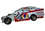 Doug Hoffman  2003  #0  Hard Plastic Toy car