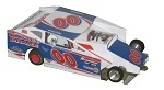 Slot Magic 1 Dirt Modified body - Bobby Varin #00 2011