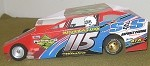 Slot Magic 1 Dirt Modified body - Kenny Tremont #115 2013