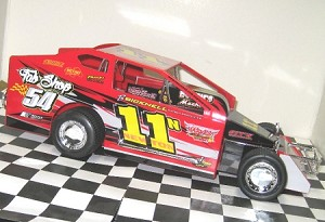 Ricky Newton 2016  Sportsman #11N Hard Plastic Toy car