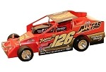 Jeff Strunk 2018 #126 Hard Plastic Toy car