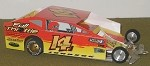 Slot Magic 1 Dirt Modified body - Alan Johnson#14J 2013