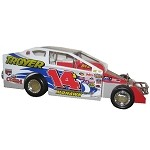 Alan Johnson 2003 #14J  Hard Plastic Toy car