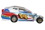 Doug Manmiller 2009 #14  Hard Plastic Toy car