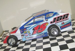 Pete Britten 2016  #18H Hard Plastic Toy car