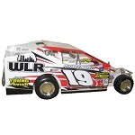 Chuck McKee 2008 #19 Hard Plastic Toy car