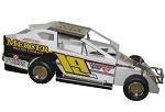 Justin Wright 2018  #19W Hard Plastic Toy car