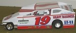 Slot Magic 1 Dirt Modified body - Kenny Brightbill #19 2005