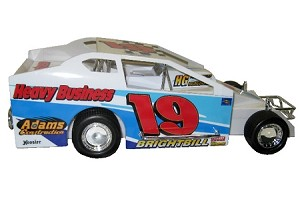 Kenny Brightbill 2007 Syracuse car #19 Hard Plastic Toy car