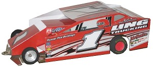 Slot Magic 1 Dirt Modified body - Billy Pauch #1 2012