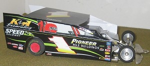 Slot Magic 2 Dirt Modified body - Billy Pauch #1 2013