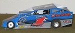Slot Magic 1 Dirt Modified body - Craig VonDohren #1 Craig VonDohren 2013
