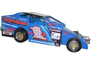 Alan Johnson 358 2003 #1J  Hard Plastic Toy car