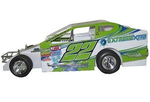 Roddy Watts 2017 Sportsman  #22 Hard Plastic Toy car