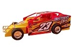 Kyle Coffey 2018 #23 Hard Plastic Toy car