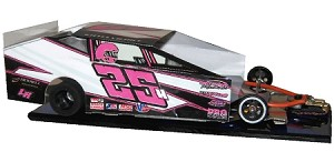 Slot Magic 3 Dirt Modified body - Katelyn Hile 2016  #25H