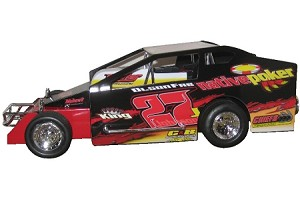Danny Johnson 2006 Syracuse winning 358 #27J Hard Plastic Toy car