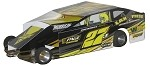 Slot Magic 1 Dirt Modified body - Danny Johnson #27J 2012 SYR