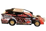 Ryan Krochun 2018 #29 Hard Plastic Toy car