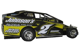 Joey Bruning 2016 Sportsman car #2 Hard Plastic Toy car