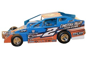 Mike Gular 2019 #2A Hard Plastic Toy car