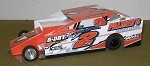 Slot Magic 1 Dirt Modified body - Ronnie Johnson
