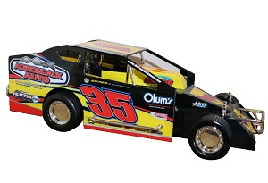 Mike Mahaney 2019  #35 Hard Plastic Toy Car