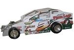 Chad Brachmann 2003 #3 Hard Plastic Toy car
