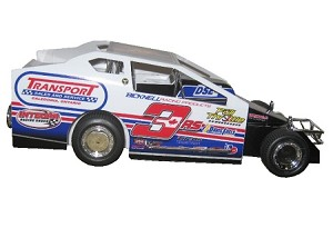 Billy Dunn #3RS 2018  Hard Plastic Toy car