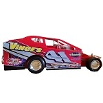 Jeff Strunk 2009 #41 Hard Plastic Toy car